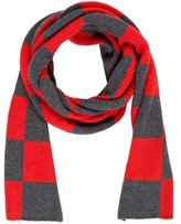 Paul Smith Checkerboard Wool-Blend Muffler