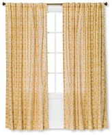 Threshold Moroccan Tile Curtain Panel