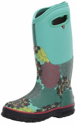 Bogs Womens Classic Tall Mandala Waterproof Rain Boot