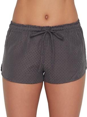 Felina Lounge Izar Jacquard Woven Pajama Shorts