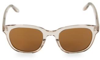 Barton Perreira Thurston Hush 49MM Rectangular Sunglasses