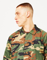 HUF Shadow Camo Coach Jacket Brown