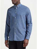 Samsoe & Samsoe Liam Long Sleeve Shirt, Light Blue Melange