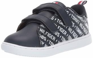 Tommy Hilfiger Kid's Iconic Court Logo ALT Sneaker