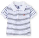 Petit Bateau Baby boy sailor-striped polo shirt