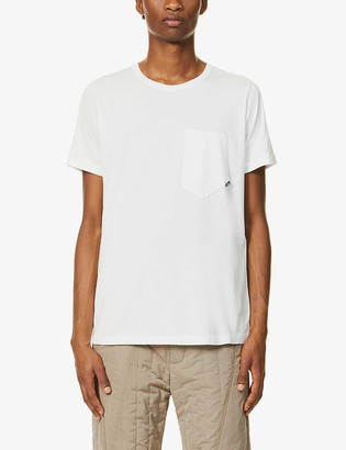 Stone Island Shadow Project Shadow Project logo-print cotton-jersey T-shirt