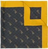 Gucci tigers print GG scarf