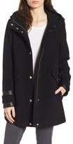Andrew Marc Women's Wool Blend Peacoat