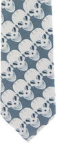 Thomas Wylde Silk Skull Print Tie w/ Tags