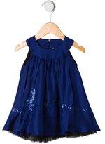 Jean Paul Gaultier Infant Girls' Sleeveless Silk Dress