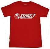 Marvel Iron Man Stark Industries T-shirt (Extra Large, )
