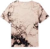 Saint Laurent Tie-Dyed Cotton-Jersey T-Shirt