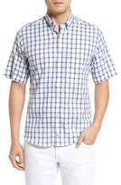 Tailorbyrd Manila Regular Fit Short Sleeve Plaid Sport Shirt