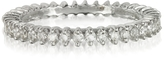 Forzieri White Gold and Diamonds Eternity Band Ring