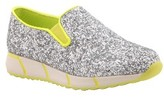 Nina Girl's Juno Slip-On Glitter Sneaker