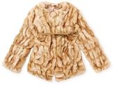 Silvian Heach Cocos Faux Fur Coat