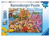 Ravensburger Pirate Boat Adventure - 100pc Puzzle
