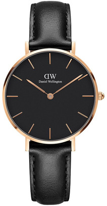 Daniel Wellington Petite Sheffield 32mm Rose Gold Watch