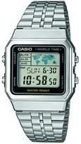 Casio Men's A500WEA-1 Stainless-Steel Quartz Watch
