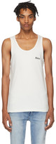 Stolen Girlfriends Club White Stolen Rib Tank Top