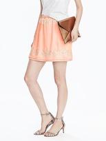 Banana Republic Lace Mini Skirt