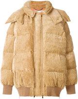 Stella McCartney velvet puffer jacket