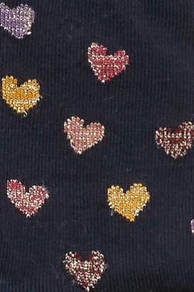 Melton Glittery Heart Tights