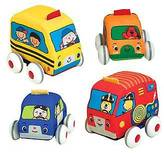 Melissa & Doug ; Pull-Back Vehicles