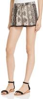 Aqua Crochet-Trimmed Shorts - 100% Exclusive