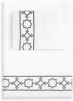 Jonathan Adler Parish Full Sheet Set - Gray