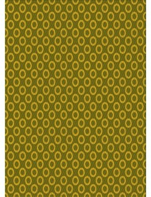 LaBelle East Urban Home Geometric Wool Yellow Area Rug East Urban Home Rug Size: Rectangle 2' x 4'