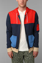 Urban Outfitters CPO Colorblock Zip-Up Hoodie Sweatshirt