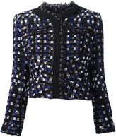 Peter Pilotto frayed bouclé jacket