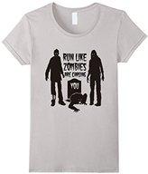 Men's Run Like Zombies Are Chasing You T-Shirt 2XL