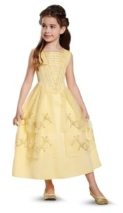 BuySeasons Disney Beauty and The Beast Belle Ball Gown Classic Little and Big Girls Costume