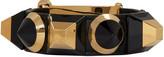 Fendi Black Rainbow Cuff Bracelet