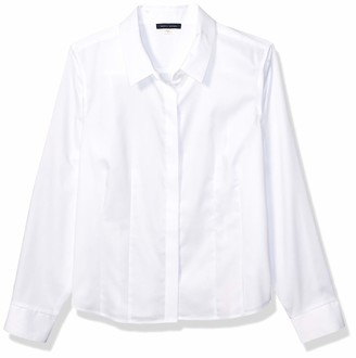Tommy Hilfiger Women's Collared Non Iron Button Down Shirt