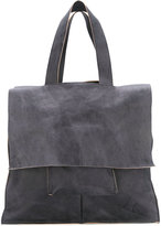 10Sei0otto - flap tote - men - Calf Leather - One Size