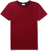 Saint Laurent - Slim-fit Striped Cotton-jersey T-shirt