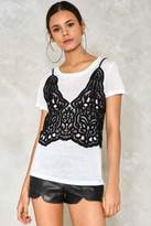 Nasty Gal Double Up Cami Tee