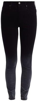 AG Jeans Farrah Velvet Mid-Rise Ankle Skinny Pants