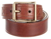Alexander McQueen Bronze Leather Belt