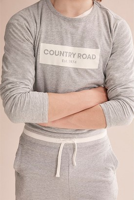 Country Road Teen Long Sleeve Logo T-Shirt