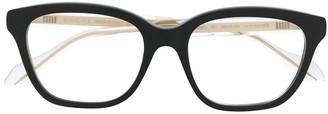 Gucci Transparent Detail Glasses