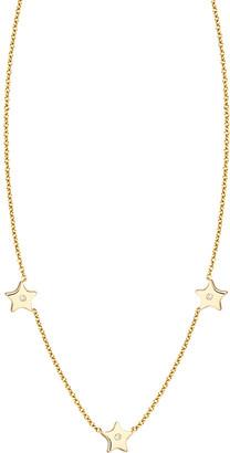 Ariana Rabbani 14K Diamond Three Stars Necklace