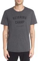 Reigning Champ Men's 'Gym Logo' Graphic T-Shirt