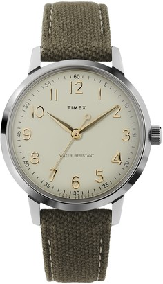 Timex + Todd Snyder Todd Snyder x Timex Liquor Store Watch in Olive