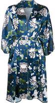 ADAM by Adam Lippes floral print kimono jacket - women - Silk - XS/S