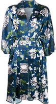 ADAM by Adam Lippes floral print kimono jacket