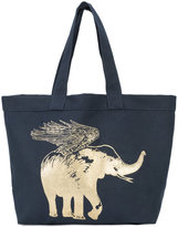 Figue flying elephant tote - women - Cotton - One Size